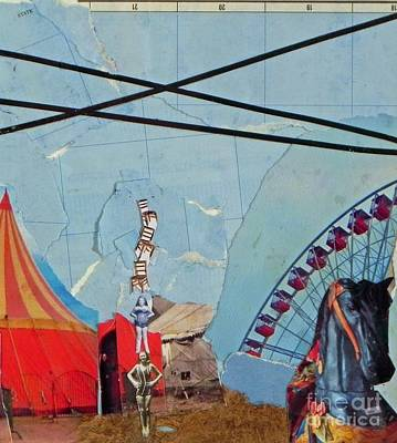 Mixed Media - Circus2 by Patricia  Tierney