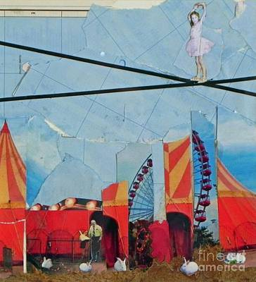 Mixed Media - Circus3 by Patricia  Tierney