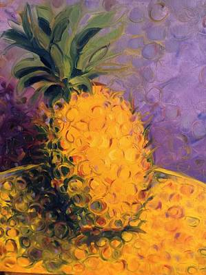 Painting - Cirdling Yellow by Karen Carmean