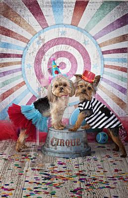 Cirque Act Art Print