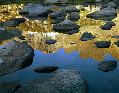Photograph - 109632-cirque Of Towers Reflection, Wy by Ed  Cooper Photography