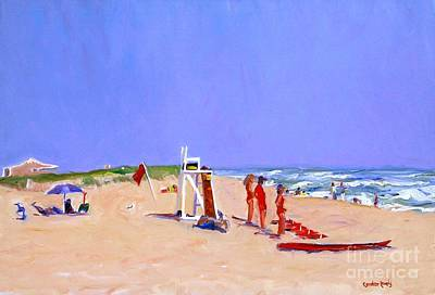 Cisco Beach Art Print