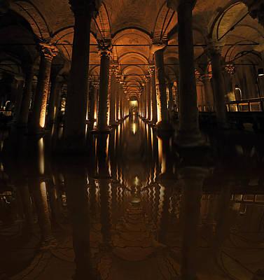 Cisterna Basilica Art Print by Ivana Miletic