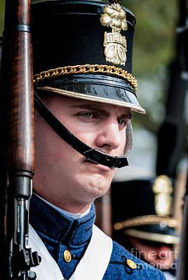 Photograph - Citadel Cadet  by Kathleen K Parker