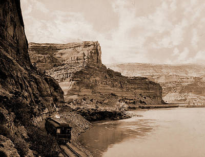 Citadel Walls, Canon Of The Grand, Utah, Jackson, William Art Print by Litz Collection