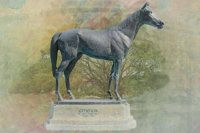 Citation Thoroughbred Art Print by Rudy Umans