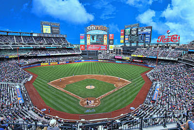 Photograph - Citi Field by Allen Beatty
