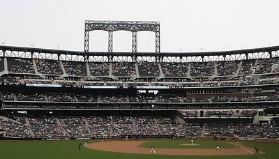 New York Mets Digital Art - Citi From Left by John Delong
