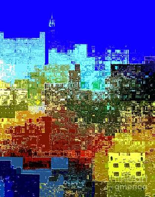 Digital Art - Citiscape Nyc by Dale   Ford