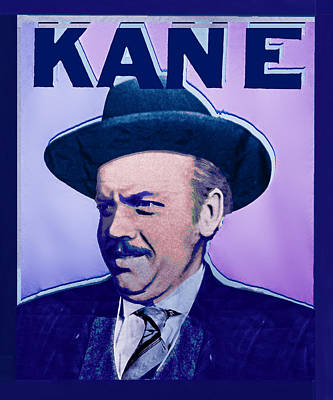 Citizen Kane Orson Welles Campaign Poster Original by Tony Rubino