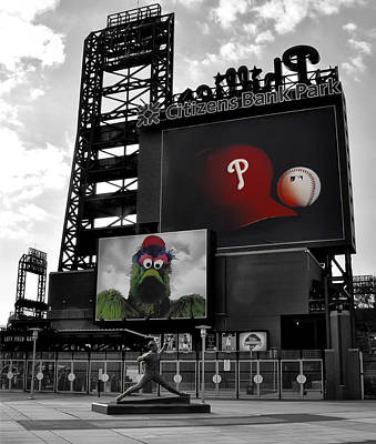 Citizens Bank Park Photograph - Citizens Bank Park Philadelphia by Bill Cannon