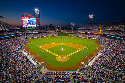 Red Photograph - Citizens Bank Park Philadelphia Phillies by Aaron Couture