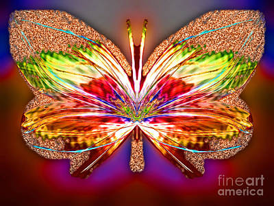 Blue Healer Digital Art - Citrine Orangegust by Raymel Garcia