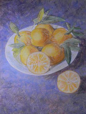 Citrus Art Print by Adel Nemeth
