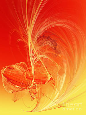 Digital Art - Citrus Infusion by Andee Design