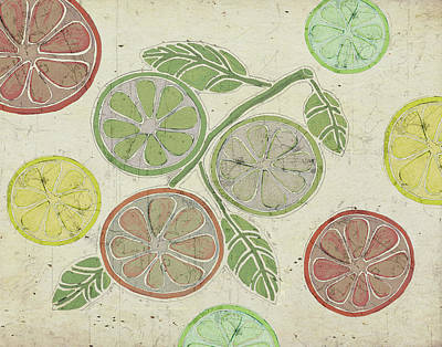 Lime Painting - Citrus by Shanni Welsh