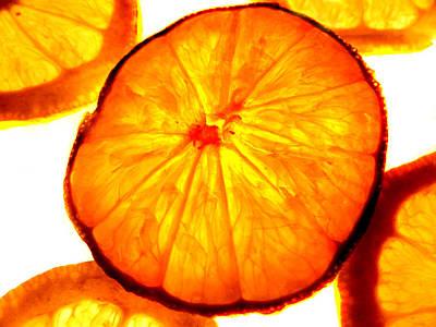 Photograph - Citrus Slices by Grace Dillon