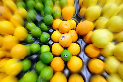 Photograph - Citrus by Valentino Visentini