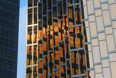 Photograph - City Abstract 4 by Jim Vance