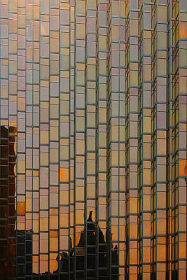 Photograph - City Abstract 6 by Jim Vance