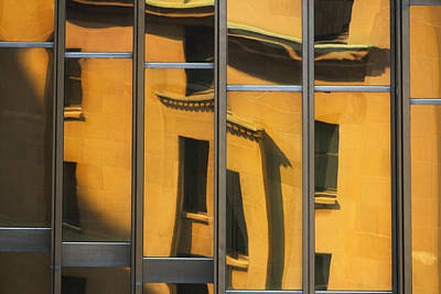 Photograph - City Abstract 7 by Jim Vance