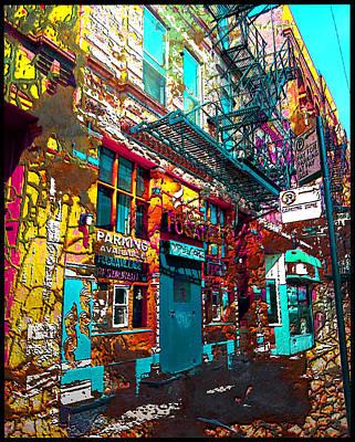 Digital Art - City Alive by Zac AlleyWalker Lowing