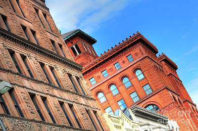 Photograph - City Architecture Kcmo by Liane Wright