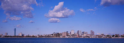 Boston Financial District Photograph - City At The Waterfront, Boston by Panoramic Images