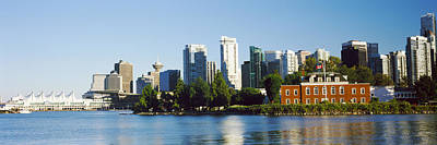 Vancouver Photograph - City At The Waterfront, Vancouver by Panoramic Images