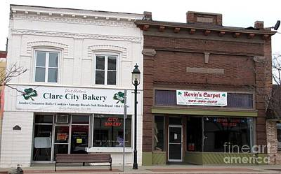 City Bakery In Clare Michigan Art Print