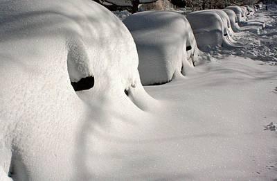 Snowmageddon Photograph - City Blizzard by Stuart Litoff