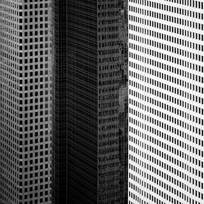 Semi Abstract Photograph - City Blocks by Dave Bowman