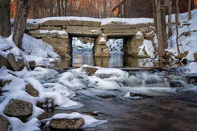 Photograph - City Brook by Darylann Leonard Photography