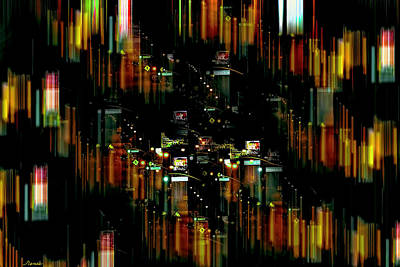 Photograph - City Chaos #1 by Renee Anderson