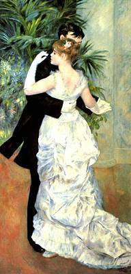 Digital Art - City Dance by Pierre Auguste Renoir