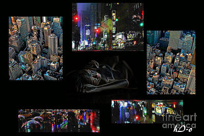 Citylife Digital Art - City Dreams by Ha Imako