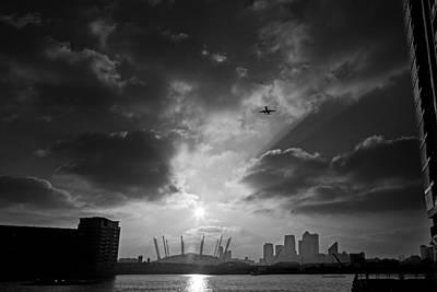 Digital Art - City Flight by David Davies