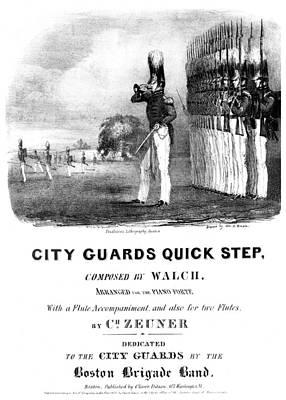 City Guards Quick Step Art Print