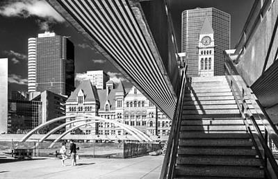 Photograph - City Hall by Arkady Kunysz