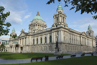 Landmarks Royalty Free Images - City Hall_ Belfast, Northern Ireland Royalty-Free Image by Carl Bruemmer