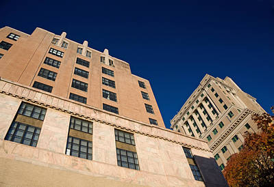 Photograph - City Hall Downtown Asheville by Melinda Fawver