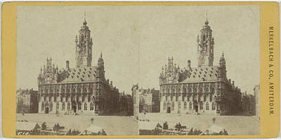 City Hall In Middelburg Art Print by Artokoloro