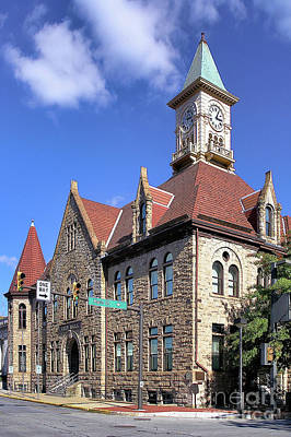 Photograph - City Hall - Johnstown Pa by John Waclo