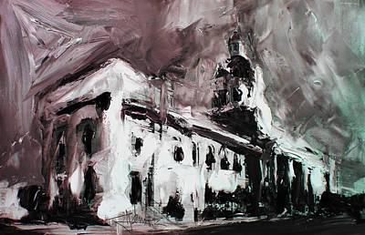 Mixed Media - City Hall Kingston  by Jim Vance