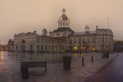 Photograph - City Hall Kingston Oct 30 2013 by Jim Vance