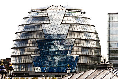 Photograph - City Hall London by Christi Kraft