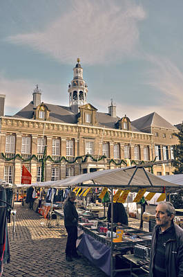 Photograph - City Hall Roermond by Nop Briex