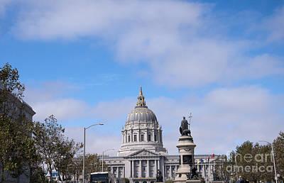 Photograph - City Hall San Francisco by Brenda Kean