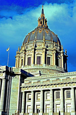 Photograph - City Hall San Francisco  by Jim Fitzpatrick