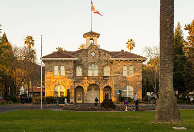 Photograph - City Hall Sonoma by Rima Biswas